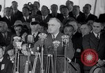 Image of Franklin Roosevelt addresses city of Chicago Chicago Illinois USA, 1937, second 62 stock footage video 65675031439