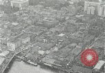 Image of aerial view Willamette River Westside Waterfront 1920s Portland Oregon USA, 1925, second 27 stock footage video 65675031461