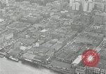 Image of aerial view Willamette River Westside Waterfront 1920s Portland Oregon USA, 1925, second 28 stock footage video 65675031461