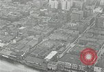 Image of aerial view Willamette River Westside Waterfront 1920s Portland Oregon USA, 1925, second 29 stock footage video 65675031461