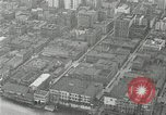 Image of aerial view Willamette River Westside Waterfront 1920s Portland Oregon USA, 1925, second 30 stock footage video 65675031461