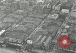 Image of aerial view Willamette River Westside Waterfront 1920s Portland Oregon USA, 1925, second 31 stock footage video 65675031461