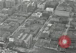 Image of aerial view Willamette River Westside Waterfront 1920s Portland Oregon USA, 1925, second 32 stock footage video 65675031461