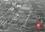 Image of aerial view Willamette River Westside Waterfront 1920s Portland Oregon USA, 1925, second 33 stock footage video 65675031461