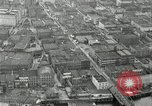Image of aerial view Willamette River Westside Waterfront 1920s Portland Oregon USA, 1925, second 36 stock footage video 65675031461