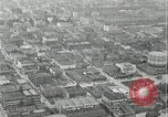 Image of aerial view Willamette River Westside Waterfront 1920s Portland Oregon USA, 1925, second 39 stock footage video 65675031461
