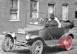 Image of African American family with 1920s early car United States USA, 1927, second 19 stock footage video 65675031464