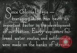 Image of early paths roads and wagon routes west in United States United States USA, 1929, second 19 stock footage video 65675031469