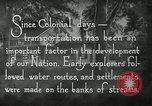 Image of early paths roads and wagon routes west in United States United States USA, 1929, second 21 stock footage video 65675031469