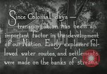 Image of early paths roads and wagon routes west in United States United States USA, 1929, second 24 stock footage video 65675031469