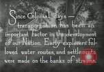 Image of early paths roads and wagon routes west in United States United States USA, 1929, second 27 stock footage video 65675031469