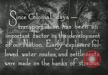 Image of early paths roads and wagon routes west in United States United States USA, 1929, second 30 stock footage video 65675031469