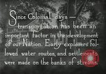 Image of early paths roads and wagon routes west in United States United States USA, 1929, second 32 stock footage video 65675031469