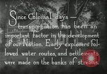 Image of early paths roads and wagon routes west in United States United States USA, 1929, second 33 stock footage video 65675031469