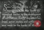 Image of early paths roads and wagon routes west in United States United States USA, 1929, second 36 stock footage video 65675031469
