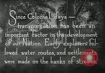 Image of early paths roads and wagon routes west in United States United States USA, 1929, second 37 stock footage video 65675031469