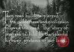 Image of early paths roads and wagon routes west in United States United States USA, 1929, second 38 stock footage video 65675031469