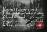 Image of early paths roads and wagon routes west in United States United States USA, 1929, second 39 stock footage video 65675031469