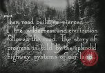 Image of early paths roads and wagon routes west in United States United States USA, 1929, second 43 stock footage video 65675031469