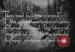 Image of early paths roads and wagon routes west in United States United States USA, 1929, second 44 stock footage video 65675031469