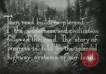 Image of early paths roads and wagon routes west in United States United States USA, 1929, second 46 stock footage video 65675031469