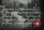 Image of early paths roads and wagon routes west in United States United States USA, 1929, second 50 stock footage video 65675031469
