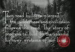 Image of early paths roads and wagon routes west in United States United States USA, 1929, second 52 stock footage video 65675031469
