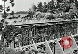 Image of developed forest road Big Bear Lake California USA, 1929, second 12 stock footage video 65675031472