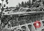 Image of developed forest road Big Bear Lake California USA, 1929, second 15 stock footage video 65675031472