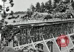 Image of developed forest road Big Bear Lake California USA, 1929, second 16 stock footage video 65675031472