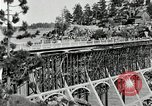 Image of developed forest road Big Bear Lake California USA, 1929, second 17 stock footage video 65675031472