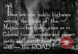 Image of developed roads United States USA, 1929, second 51 stock footage video 65675031478