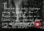 Image of developed roads United States USA, 1929, second 52 stock footage video 65675031478
