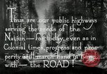 Image of developed roads United States USA, 1929, second 53 stock footage video 65675031478