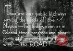 Image of developed roads United States USA, 1929, second 60 stock footage video 65675031478