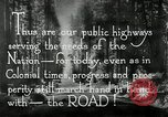 Image of developed roads United States USA, 1929, second 61 stock footage video 65675031478