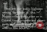 Image of developed roads United States USA, 1929, second 62 stock footage video 65675031478
