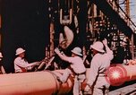 Image of Construction of Liberty Ships Sausalito California USA, 1944, second 8 stock footage video 65675031501