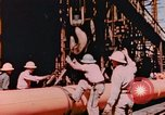 Image of Construction of Liberty Ships Sausalito California USA, 1944, second 9 stock footage video 65675031501