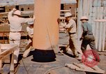 Image of Construction of Liberty Ships Sausalito California USA, 1944, second 23 stock footage video 65675031501