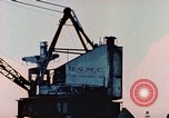 Image of Construction of Liberty Ships Sausalito California USA, 1944, second 32 stock footage video 65675031501