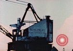 Image of Construction of Liberty Ships Sausalito California USA, 1944, second 34 stock footage video 65675031501