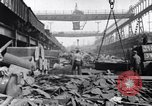Image of Recycling scrap in Steelmaking United States USA, 1943, second 15 stock footage video 65675031505