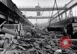 Image of Recycling scrap in Steelmaking United States USA, 1943, second 17 stock footage video 65675031505