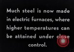 Image of Steelmaking with Electric Furnace United States USA, 1943, second 2 stock footage video 65675031506