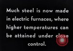 Image of Steelmaking with Electric Furnace United States USA, 1943, second 3 stock footage video 65675031506