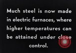 Image of Steelmaking with Electric Furnace United States USA, 1943, second 6 stock footage video 65675031506
