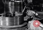 Image of manufacture of steel wire United States USA, 1943, second 57 stock footage video 65675031514