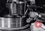 Image of manufacture of steel wire United States USA, 1943, second 58 stock footage video 65675031514