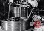 Image of manufacture of steel wire United States USA, 1943, second 60 stock footage video 65675031514
